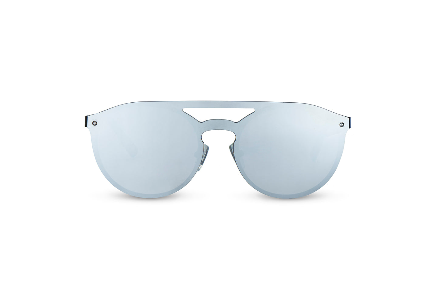 ocean sunglasses KRNglasses model ALEX SKU AE001 with gun frame and grey mirror lens