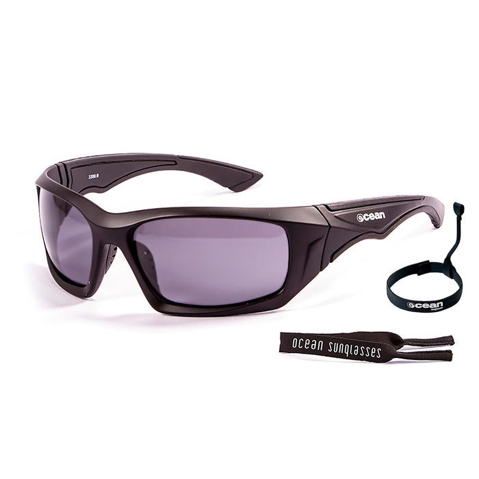 Ocean sunglasses model antigua with frame and lens polarized eyewear for kiteboarding and surfing