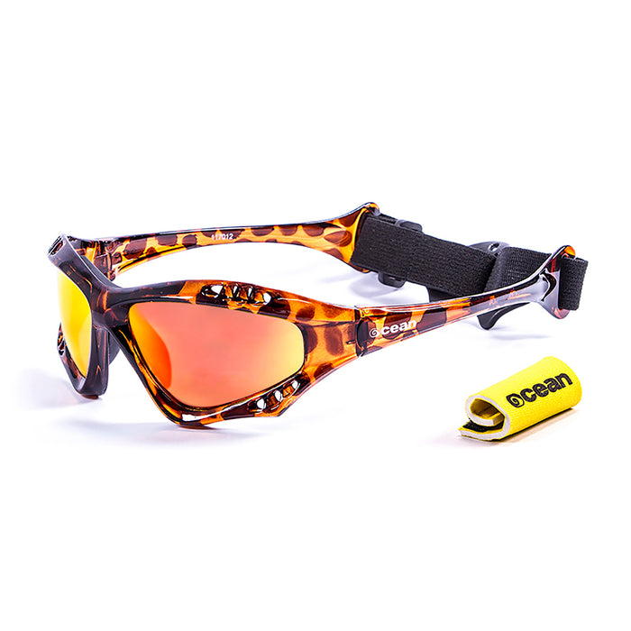 Ocean sunglasses model australia with frame and lens polarized eyewear for kiteboarding and surfing