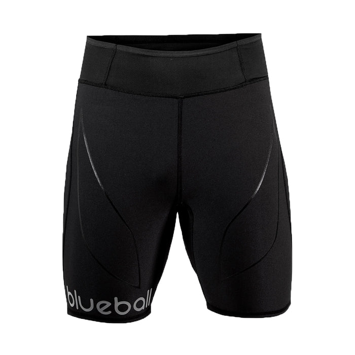 BLUEBALL MEN Running Short Men With Pocket and Rear Black Compression Pants
