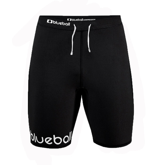 BLUEBALL MEN Running Short Black Compression Pants