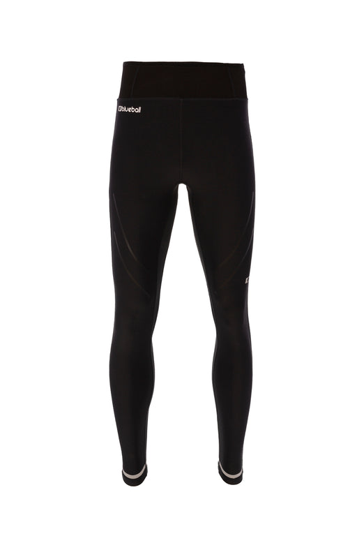 BLUEBALL MEN Running Compression Mesh Black Compression Pants