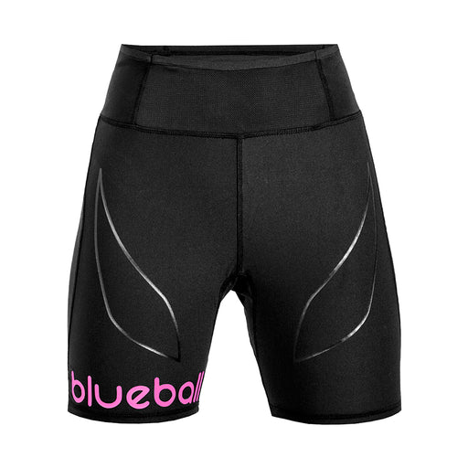 BLUEBALL WOMEN Running Short Pants With Pocket Black Compression Pants
