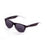 ocean sunglasses KRNglasses model BEACH SKU 18202.113 with transparent black frosted frame and revo green lens