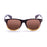 ocean sunglasses KRNglasses model BEACH SKU 18202.43 with matte black frame and revo iridium lens