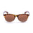 ocean sunglasses KRNglasses model BEACH SKU 18202.38 with blue light frosted & demy brown frame and revo blue lens