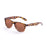ocean sunglasses KRNglasses model BEACH SKU 18202.36 with shiny black & red frame and smoke lens