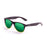 ocean sunglasses KRNglasses model BEACH SKU 18202.29 with transparent violet frosted & blue frame and smoke lens