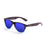 ocean sunglasses KRNglasses model BEACH SKU 18202.25 with pink frame and revo blue lens