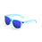 ocean sunglasses KRNglasses model BEACH SKU 18202.6 with transparent black frame and revo rudy iridium lens