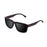 ocean sunglasses KRNglasses model BIDART SKU 30.7 with shiny black frame and revo gold lens