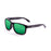 ocean sunglasses KRNglasses model BLUE SKU 19202.26 with transparent green frame and revo green lens