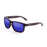ocean sunglasses KRNglasses model BLUE SKU 19202.25 with pink frame and revo blue lens