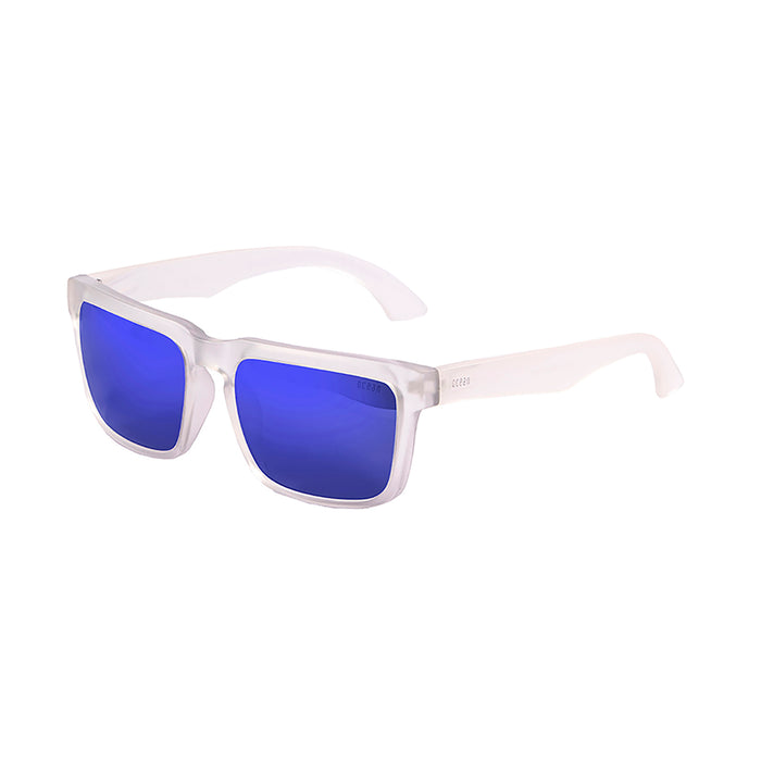 ocean sunglasses KRNglasses model BOMB SKU 17202.3 with shiny black frame and yellow iridium lens