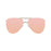 ocean sunglasses KRNglasses model BONILA SKU 18110.3 with gold frame and grand blue lens