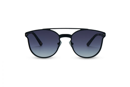 KYPERS sunglasses model BONNIE BN002 with black frame and gradient grey lens