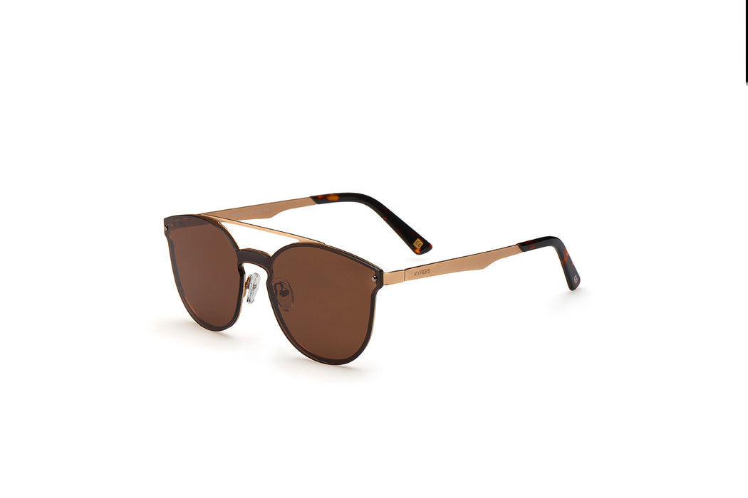 KYPERS sunglasses model BONNIE BN005 with gun frame and blue lens