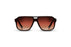 KYPERS sunglasses model BYRON BY003 with grey frame and gradient grey lens