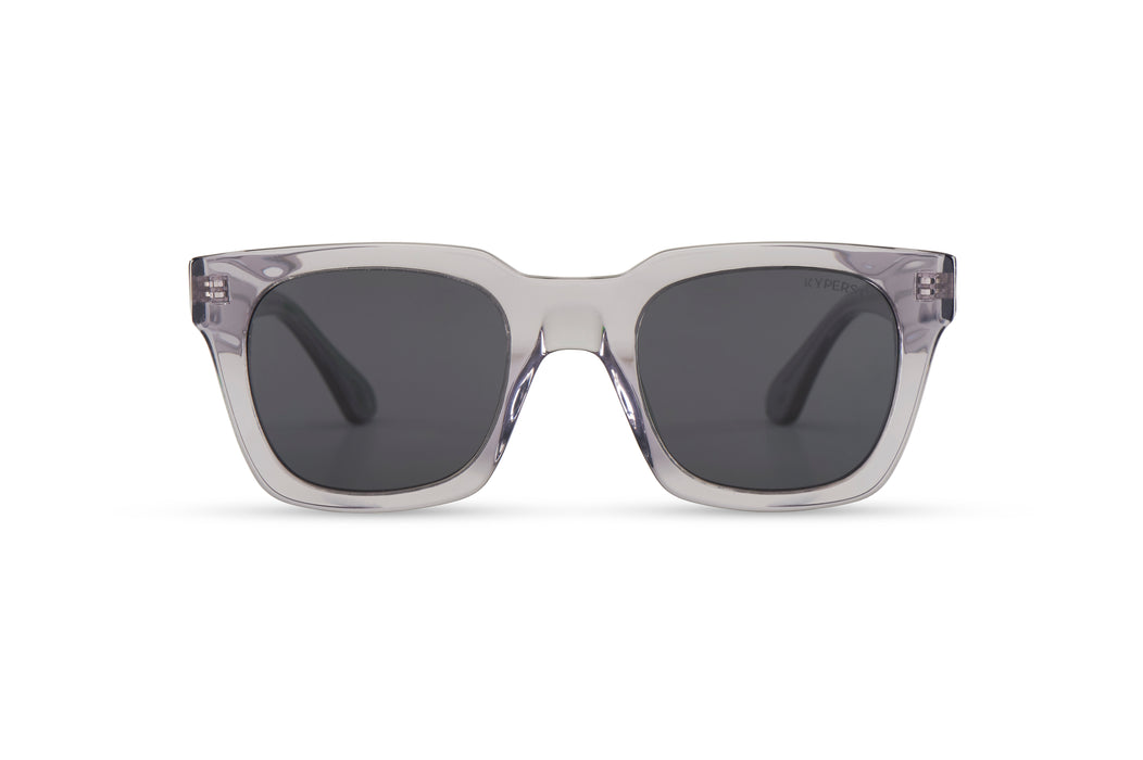 KYPERS sunglasses model CECILIA CE002 with crystal grey frame and grey lens