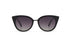 KYPERS sunglasses model CHARLOTTE CH001 with black frame and gradient grey lens