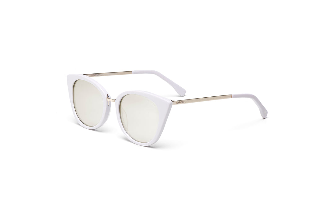 KYPERS sunglasses model CHARLOTTE CH004 with burgundy frame and gradient grey lens