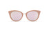 KYPERS sunglasses model CHARLOTTE CH005 with havana frame and gradient brown & blue revo lens