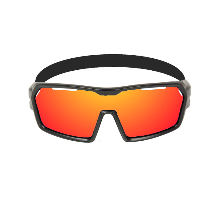 Ocean sunglasses model chameleon with frame and lens polarized eyewear for kiteboarding and surfing