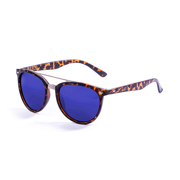 ocean sunglasses KRNglasses model CLASSIC SKU 74000.1 with demy brown frame and brown lens