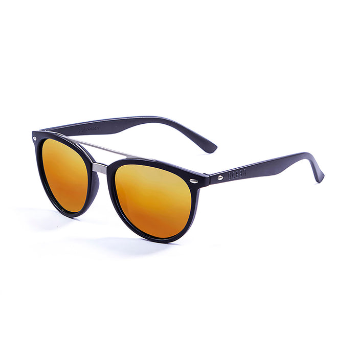 ocean sunglasses KRNglasses model CLASSIC SKU 74002.1 with nickel brown frame and brown lens