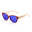 ocean sunglasses KRNglasses model COOL SKU 51000.1 with black frame and smoke lens