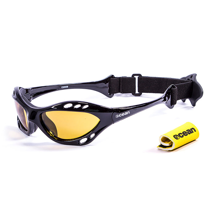 Ocean sunglasses model cumbuco with frame and lens polarized eyewear for kiteboarding and surfing