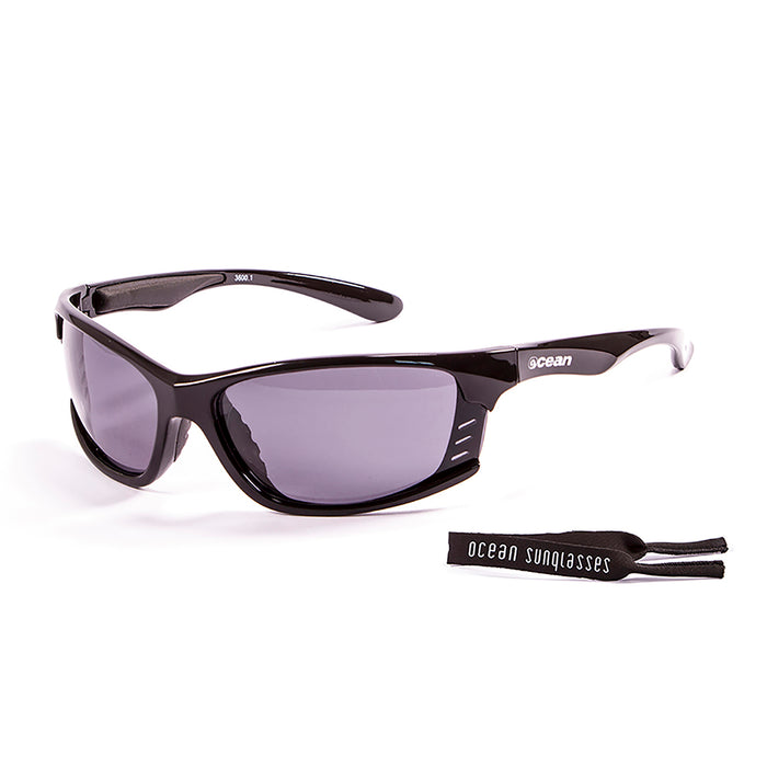 Ocean sunglasses model cyprus with frame and lens polarized eyewear for kiteboarding and surfing