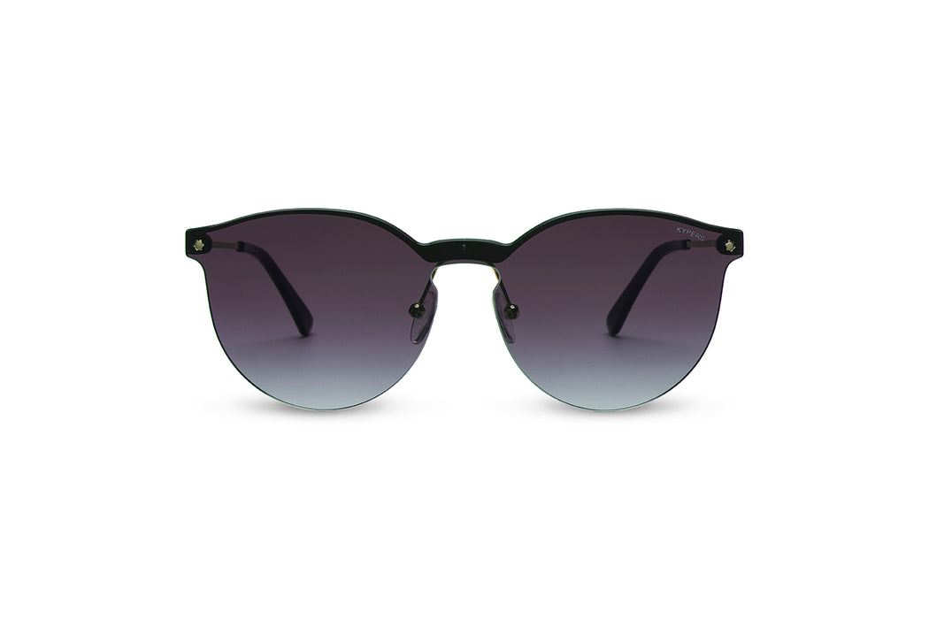 KYPERS sunglasses model DANIELA DA005 with gold frame and gradient grey lens