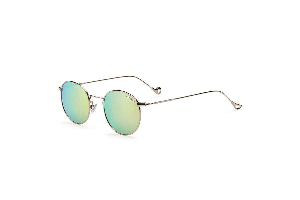 KYPERS sunglasses model DIANA DI002 with silver frame and brown revo lens