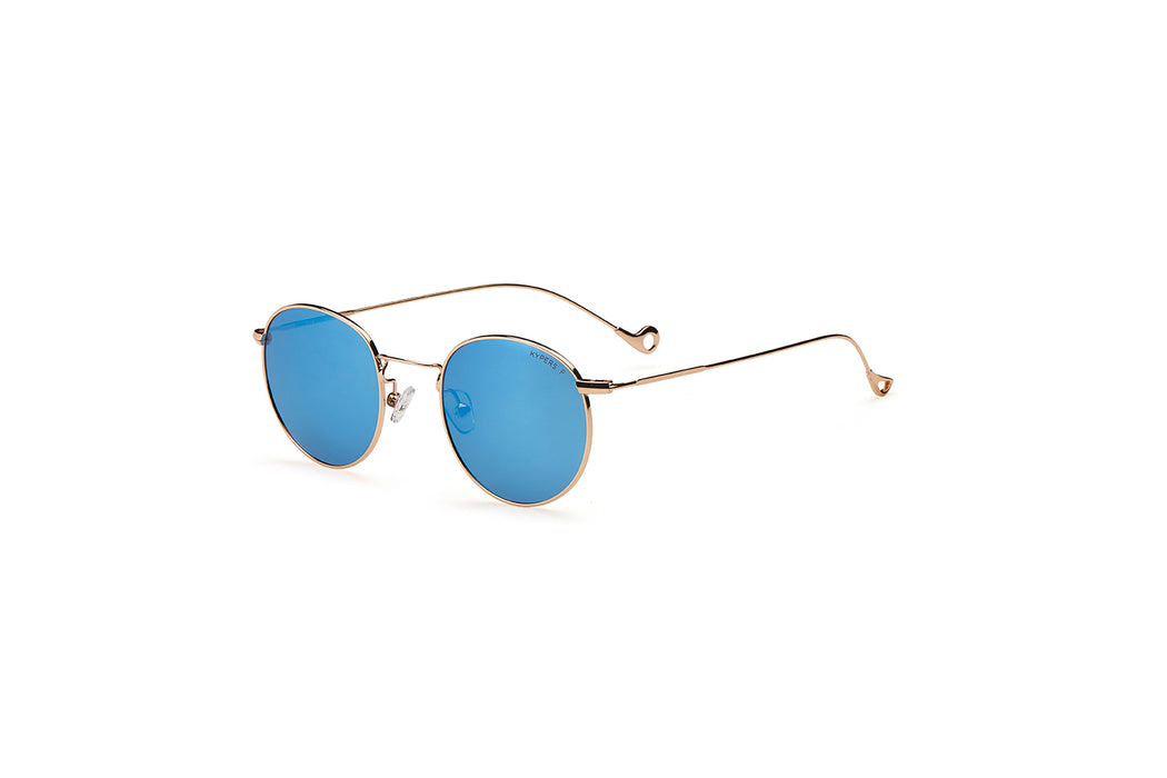 KYPERS sunglasses model DIANA DI004 with silver frame and blue lens