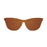 ocean sunglasses KRNglasses model FLORENCIA SKU 24.26 with transparent brown frame and transparent pink lens