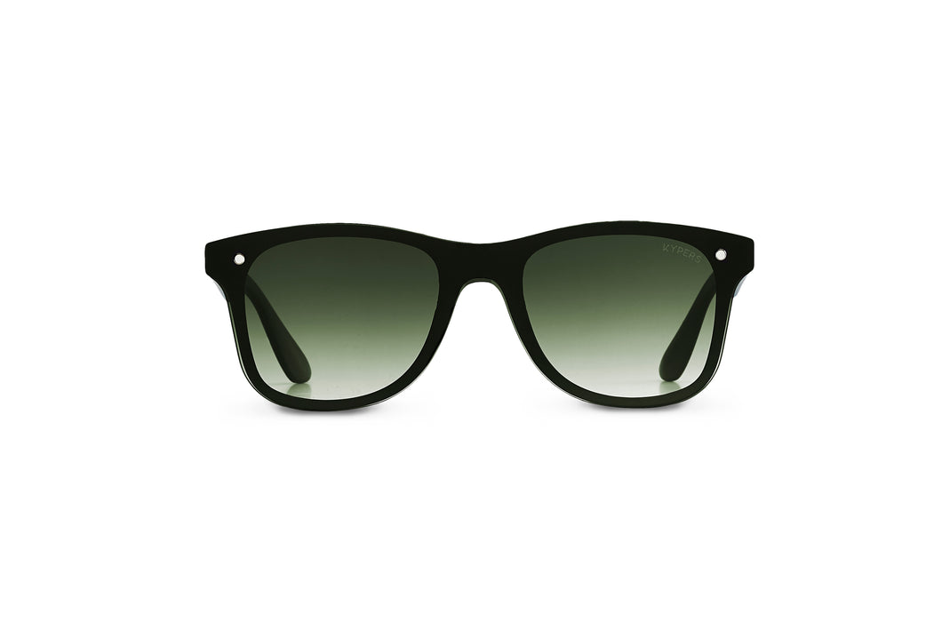 KYPERS sunglasses model FRANK FK007 with black frame and pink mirror lens