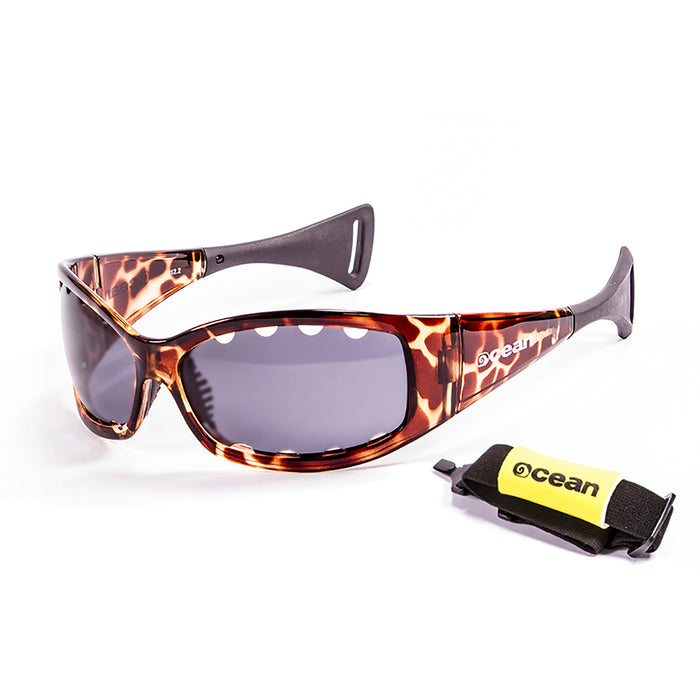 Ocean sunglasses model fuerteventura with frame and lens polarized eyewear for kiteboarding and surfing