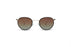 KYPERS sunglasses model GRAZY GY003 with silver frame and blue revo lens