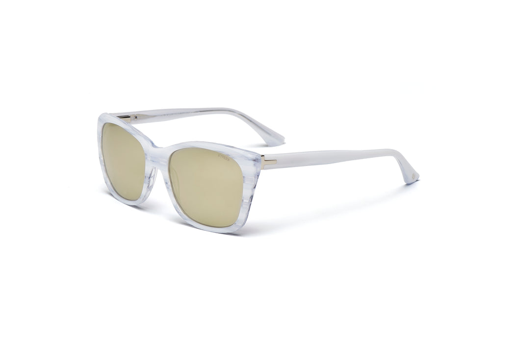 KYPERS sunglasses model GRETA GT002 with black frame and purple degrade lens