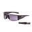 Ocean sunglasses model guadalupe 3502.0 with matte black frame and revo green lens polarized eyewear for water sports