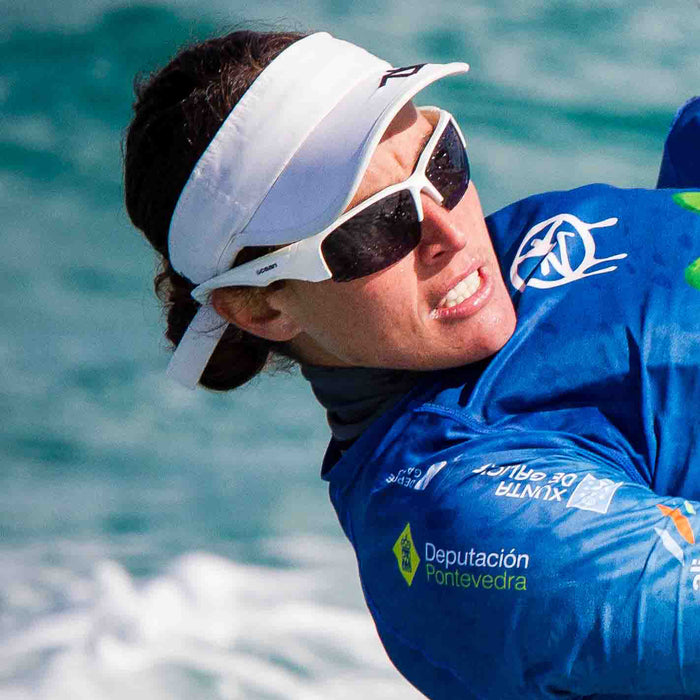 Ocean sunglasses model guadalupe with frame and lens polarized eyewear for kiteboarding and surfing