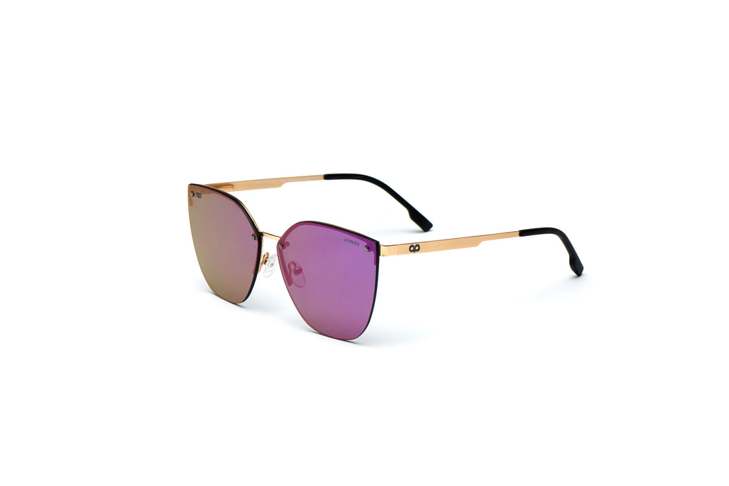 KYPERS sunglasses model GUANTER GU004.S with gold frame and smoke lens
