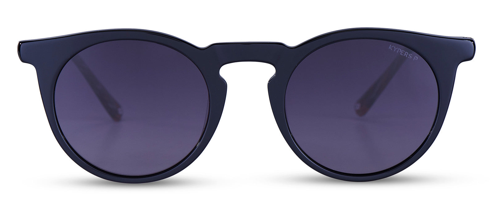 KYPERS sunglasses model HELEN HE001S with black frame and grey lens