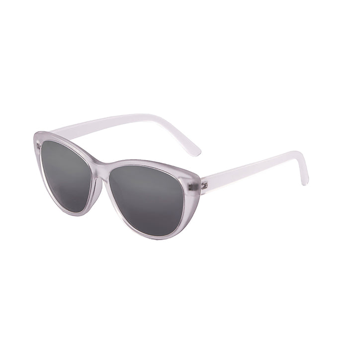 ocean sunglasses KRNglasses model HENDAYA SKU 57000.5 with demy brown clear frame and smoke lens