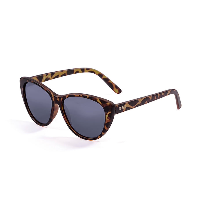 ocean sunglasses KRNglasses model HENDAYA SKU 57000.7 with demy grey brown frame and smoke lens