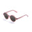 ocean sunglasses KRNglasses model JAPAN SKU 4000.12 with matte demy brown frame and brown flat lens