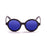 ocean sunglasses KRNglasses model JAPAN SKU 4000.96 with ginger transparent frame and smoke lens
