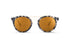 KYPERS sunglasses model KINA KI004 with havana grey frame and brown revo lens