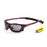 Ocean sunglasses model lake garda 13000.5 with green frame and smoke lens polarized eyewear for water sports